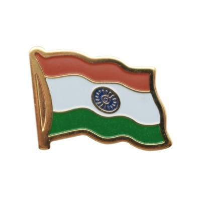 Collar Pin - India Flag