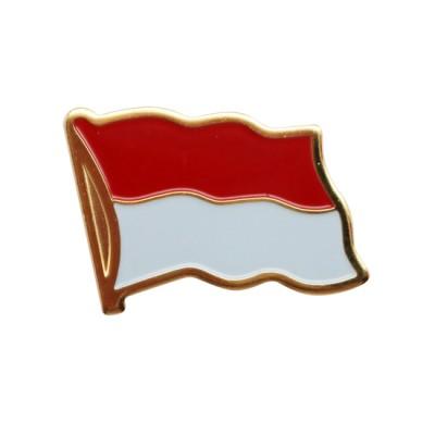 Collar Pin - Indonesia Flag