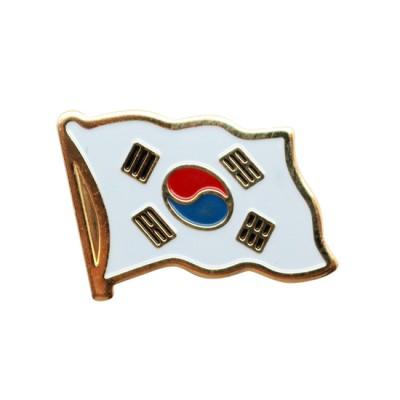 Collar Pin - Korea Flag