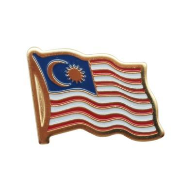 Collar Pin - Malaysia Flag